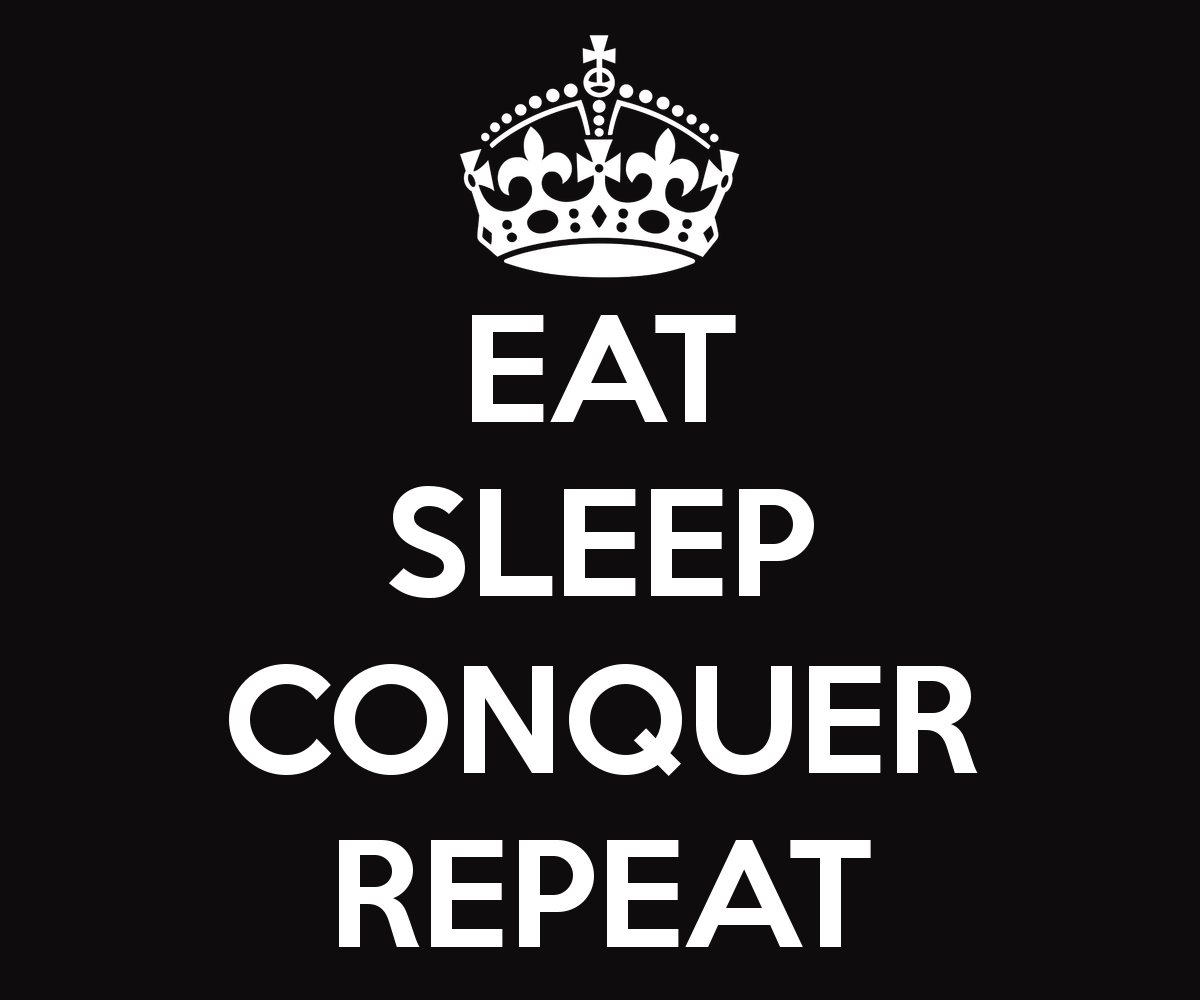 Images For Brock Lesnar Eat Sleep Conquer Repeat Logo