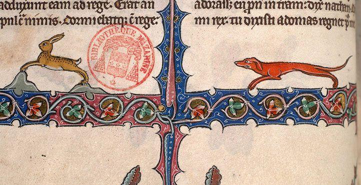Bibbia (Inghilterra, 1320-1330), Bibl. Mazarine