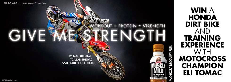 Win A Honda Dirt Bike And Training Experience With Motocross