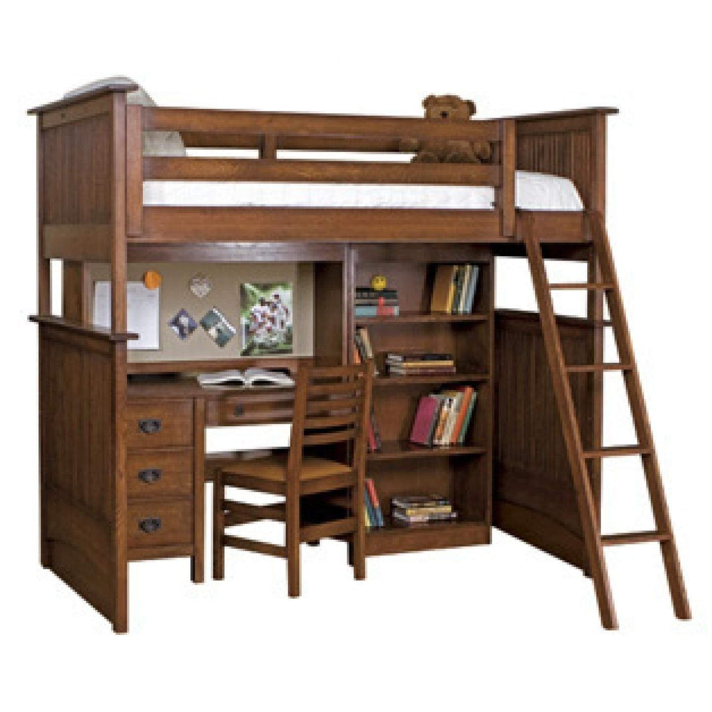 Loft bed with desk cheap  Bed and Desk Combo  Living Room Sets ashley Furniture Check more at