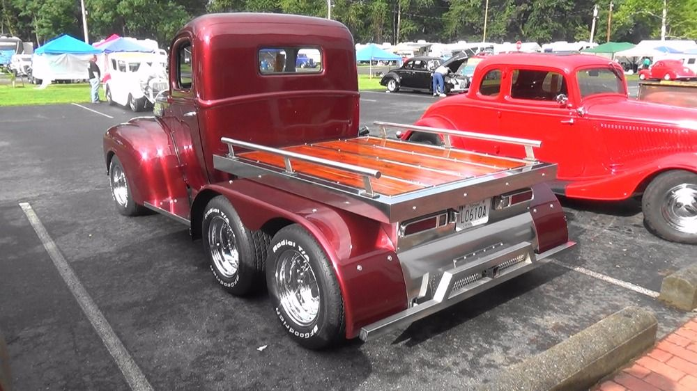 Used 1947 Ford F100 -CUSTOM PICKUP TRUCK- 327 BORED 30 OVER/ 350 ...