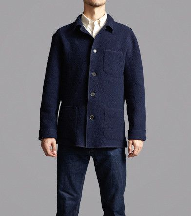 Boiled Wool Chore Jacket from Freemans Sporting Club