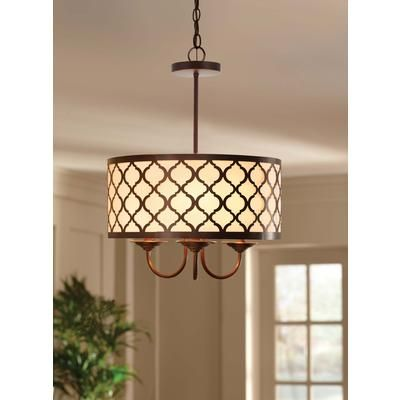 Home Decorators Collection Edgemoor 3 Light 16 Inch Pendant 16087 Home Depot Canada