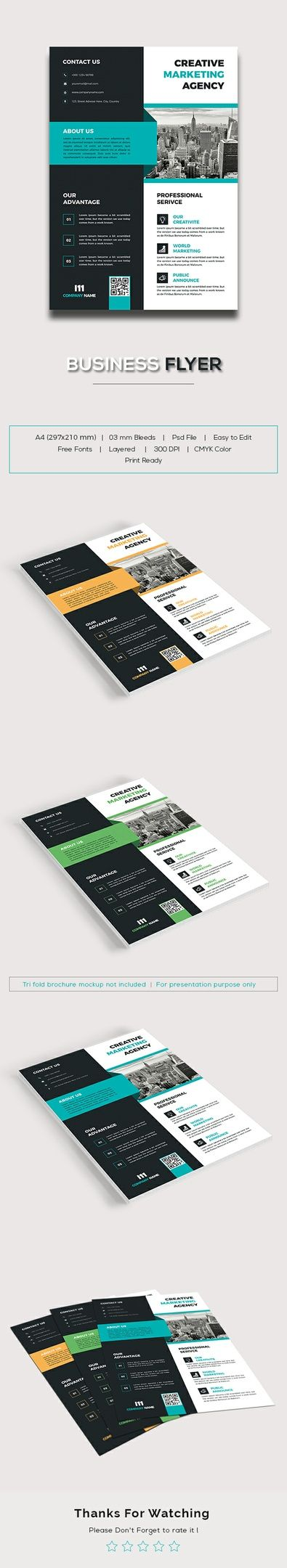 business flyer business flyers company profile and print templates