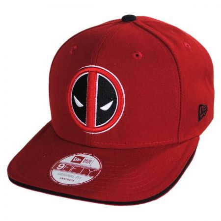 Deadpool Snapback available at  VillageHatShop  a7d60e4812a
