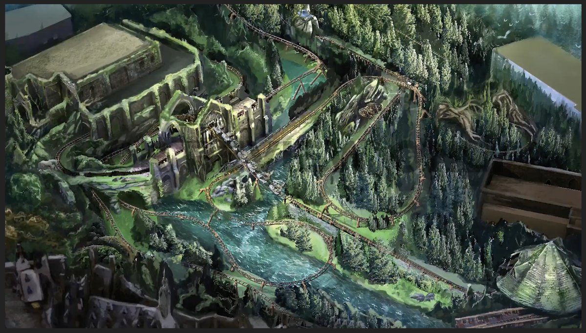 The New Harry Potter Roller Coaster Sounds Like It Might Be Universal S Best Ride Yet Universal Islands Of Adventure Magical Creatures Orlando Theme Parks