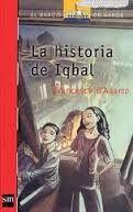 Actividades del libro la historia de Iqbal