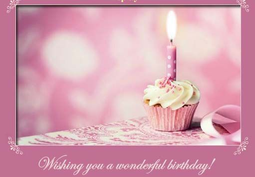 Birthday Cards To Send ~ My special day from my daughter victoria thank you corazon de