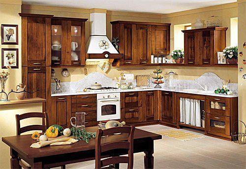 Cocinas de madera for the home pinterest cocina de for Cocinas integrales bonitas