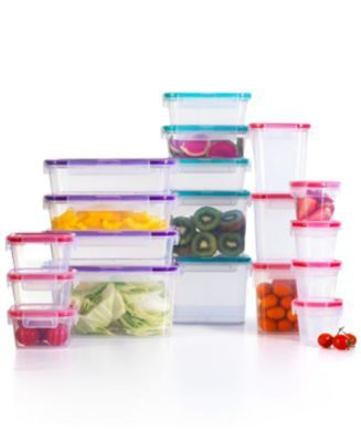 Snapware 40 Pc. Airtight Meal Prep Storage Set, Created For Macyu0027s | Storage  Sets, Kitchen Gadgets And Cabinet Space