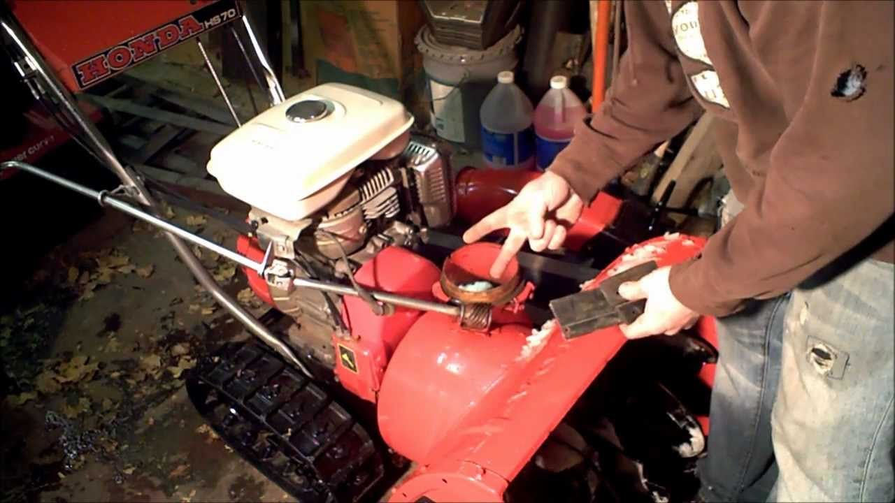 Modify Snowblower to never clog and throw twice as far w