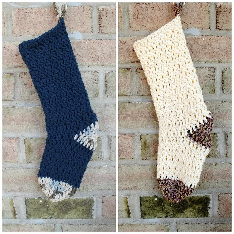 the family stocking by designer abigail haze free crochet pattern