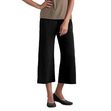 Original Fit Jet Set Knit Crop Elastic-Waist Pants - Item 32144