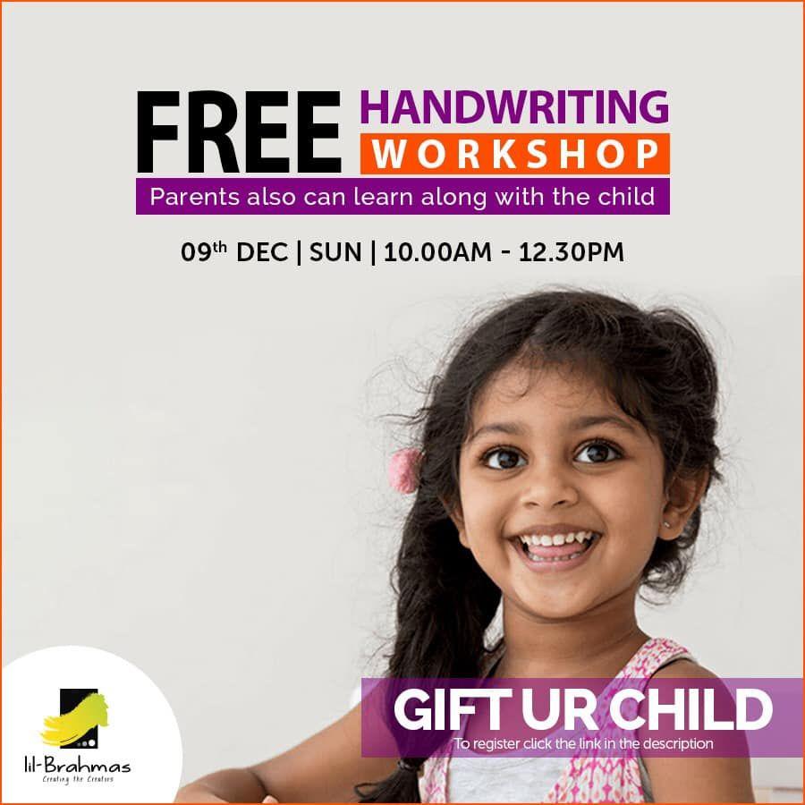 Exclusive Porur Enroll Now Www Lilbrahmas Com Handwriting Share