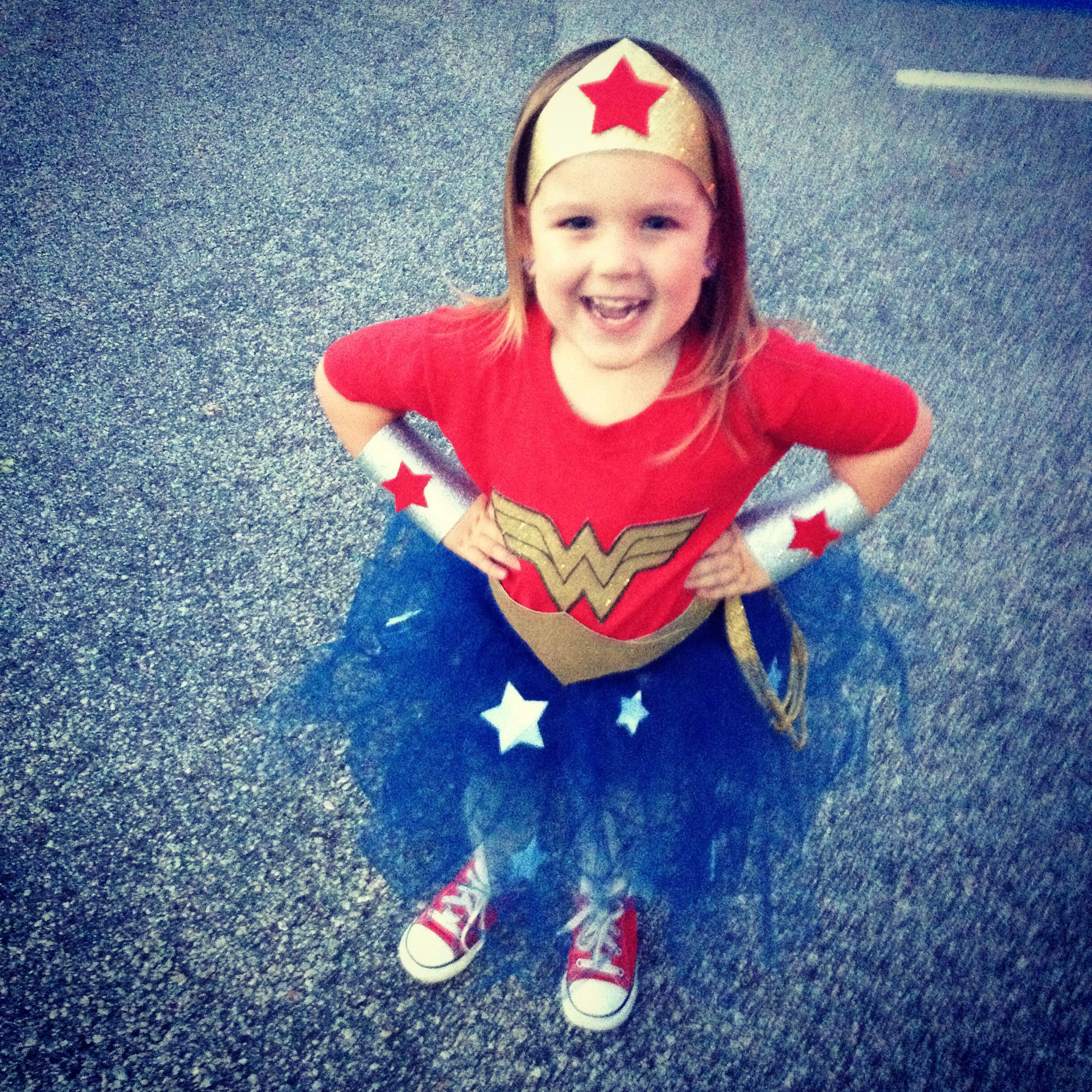 DIY Wonder Woman costume for toddlers | Fall/Halloween | Pinterest ...