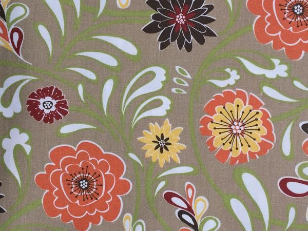 "Muslin-45""-Trellis Flourish Flowers"