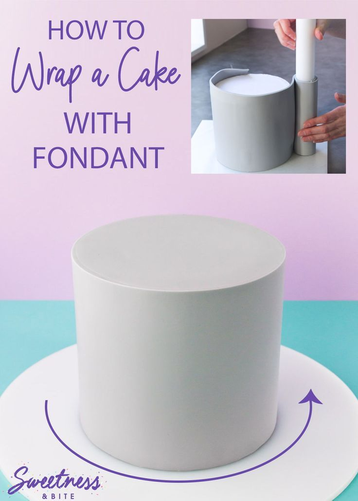 How To Wrap A Cake With Fondant