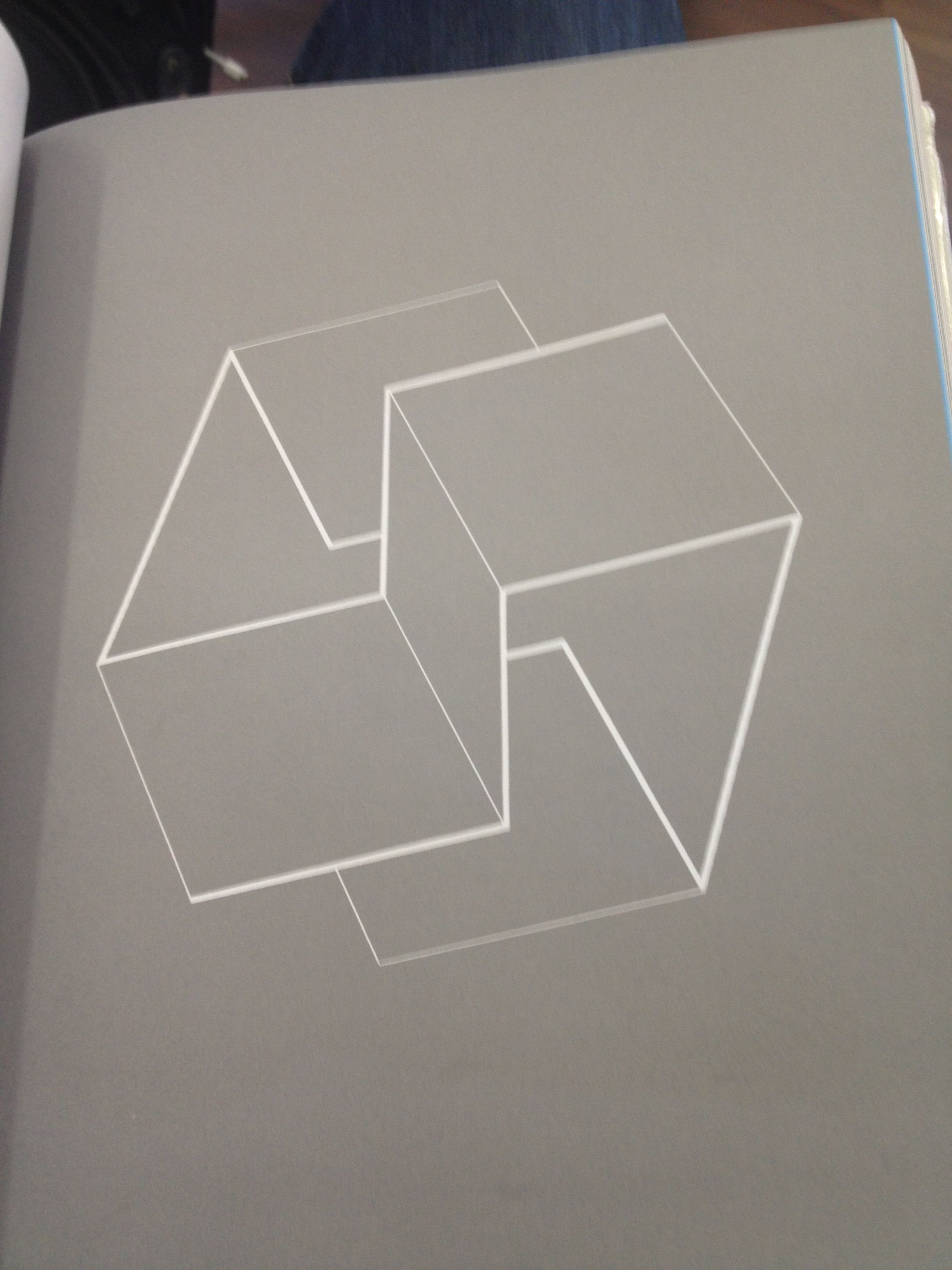 A shape from alan fletchers book the art of looking sideways