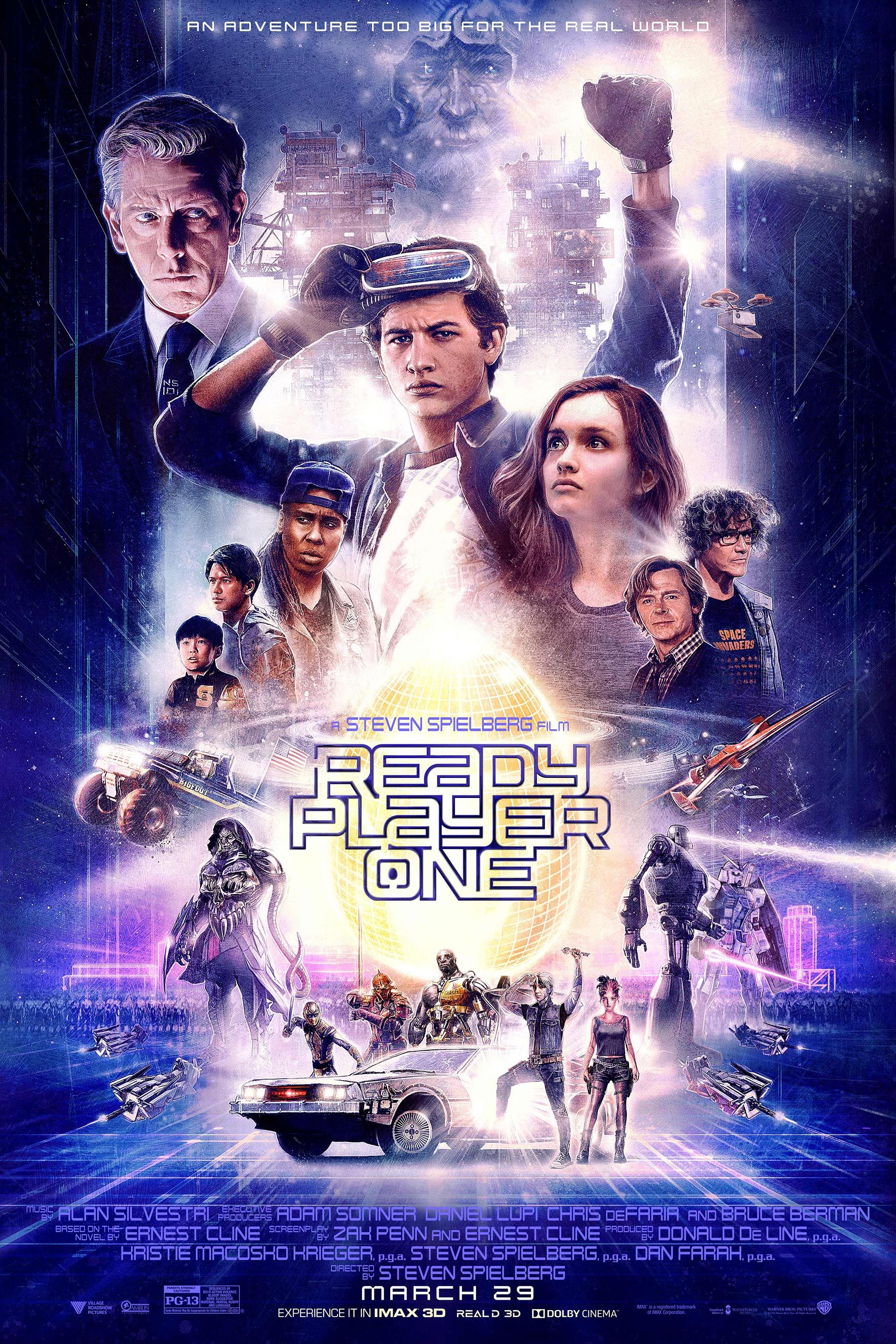 Tye Sheridan Goes Back To The Future In Totally 80s Ready Player One Poster Ready Player One Movie Ready Player One Full Movies Online Free