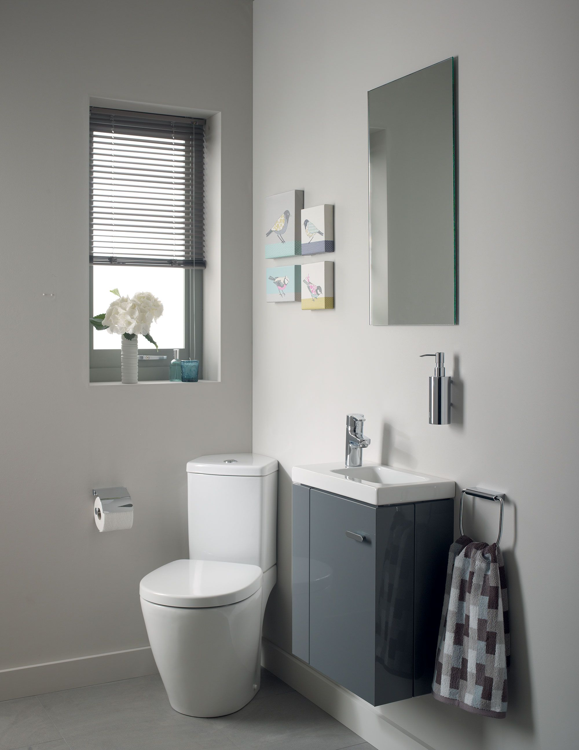 Image result for ideal standard corner wc Powder room