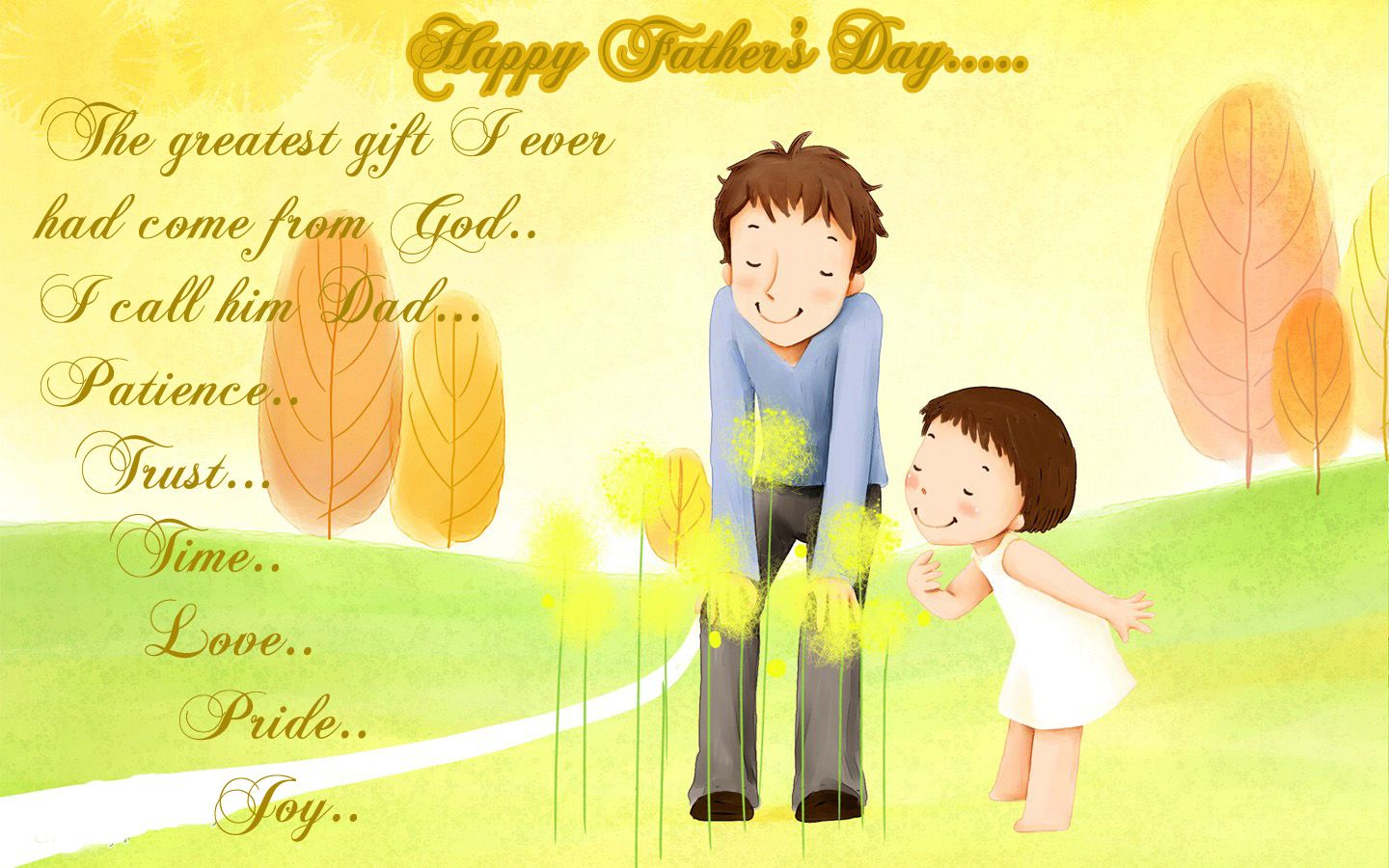 Happy Fathers Day 2014 Wallpapers Images And Text Messages Sms