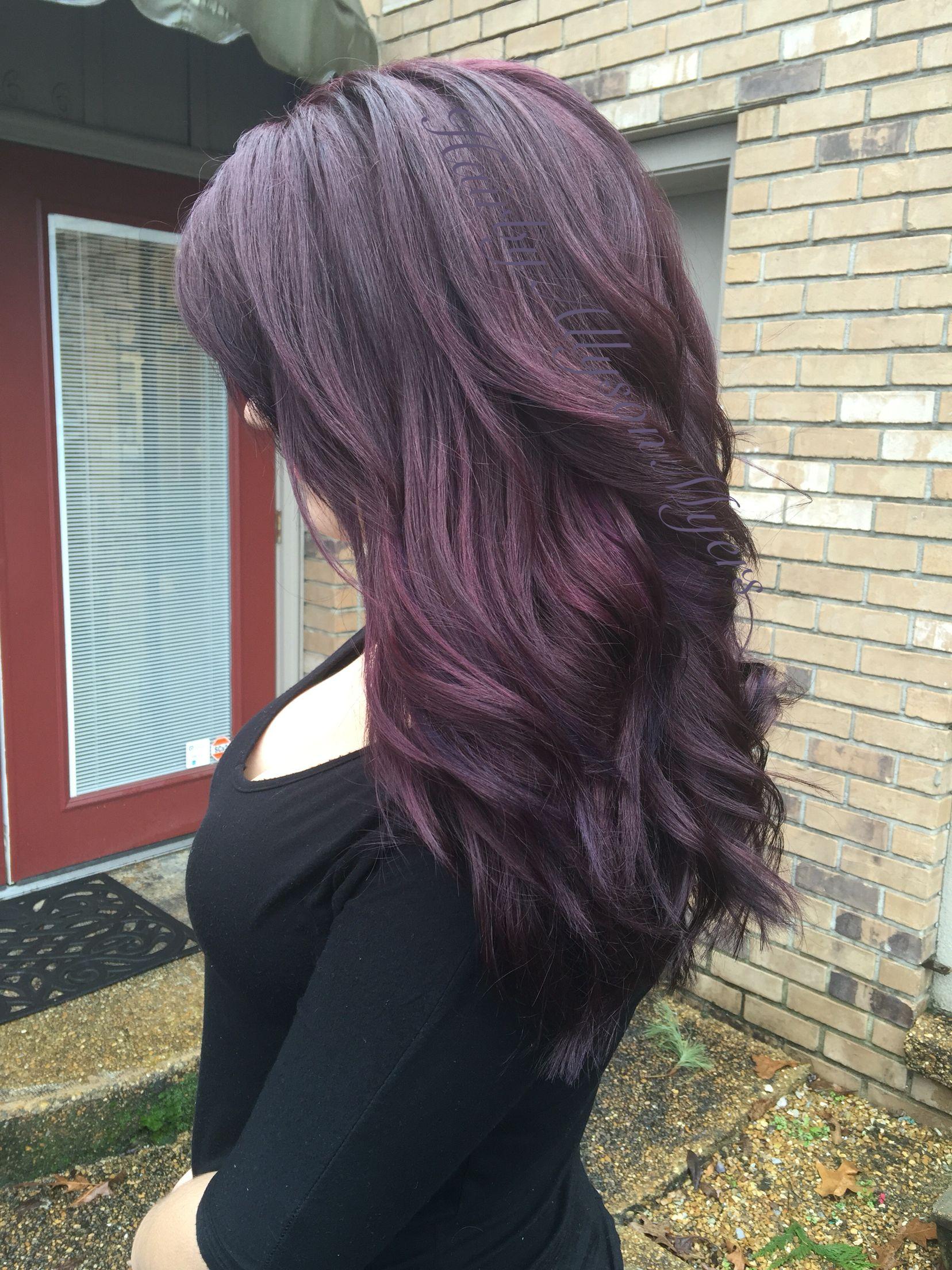 25+ Black hair with purple undertones ideas in 2021