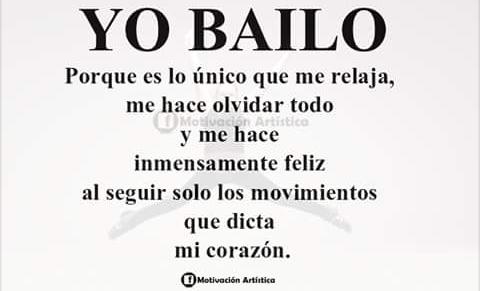 Si Amo Bailar Frases De Danza Frases De Baile Y Danza Y Baile