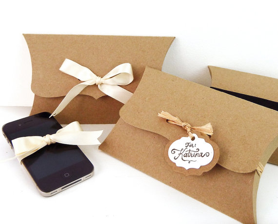 Packaging Ideas For Pillows: 6 Large Pillow Boxes 7 75 x 4 5 x 1 5 by WishDesignStudio  $15 00    ,