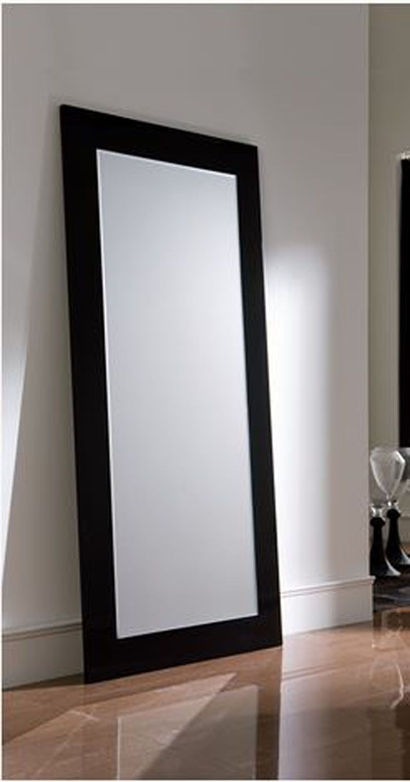 Espejos modernos vestidor negro sanpablines for Espejos infantiles