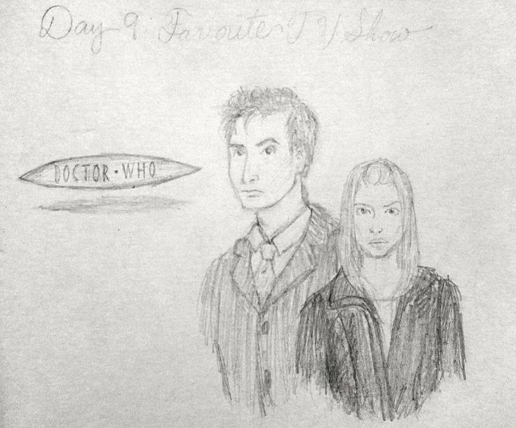 Concours de dessin de 30 jours ~ Fan Art Dr. Who de E. Jennys ~ Arts Finesse - #challenge #drawing #finesse #jennys - #nouveau - -