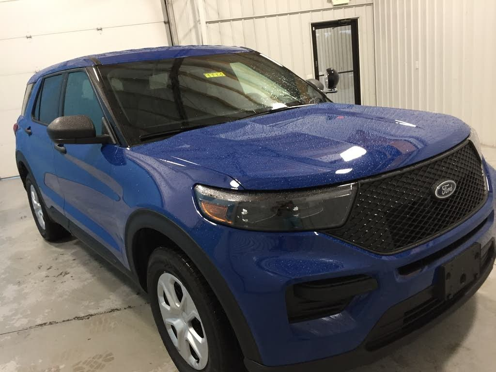 2020 Ford Police Interceptor Royal Blue Ford Police Commercial Vehicle Ford Trucks