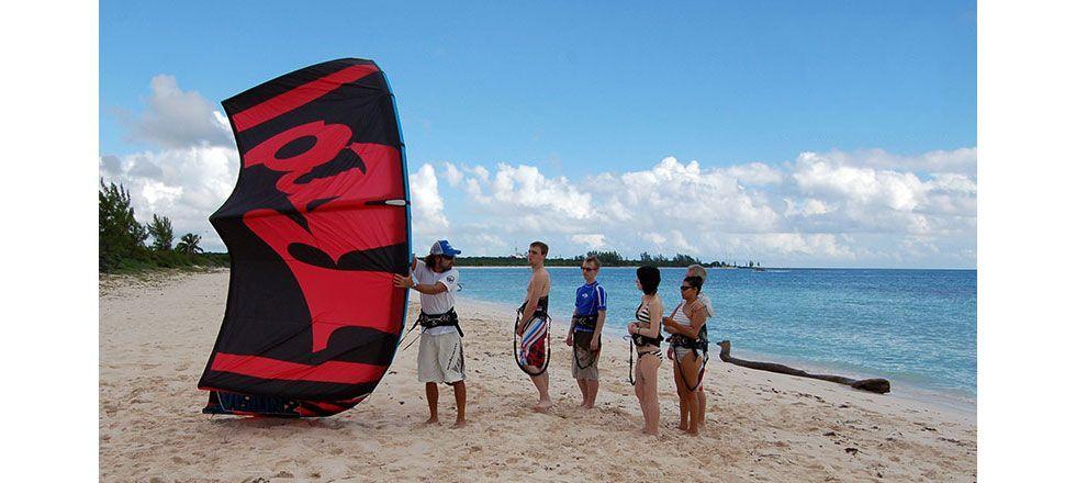 lezione kitesurf di gruppo