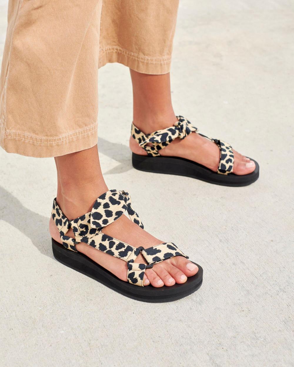 Maisie Sporty Sandal Leopard in 2020