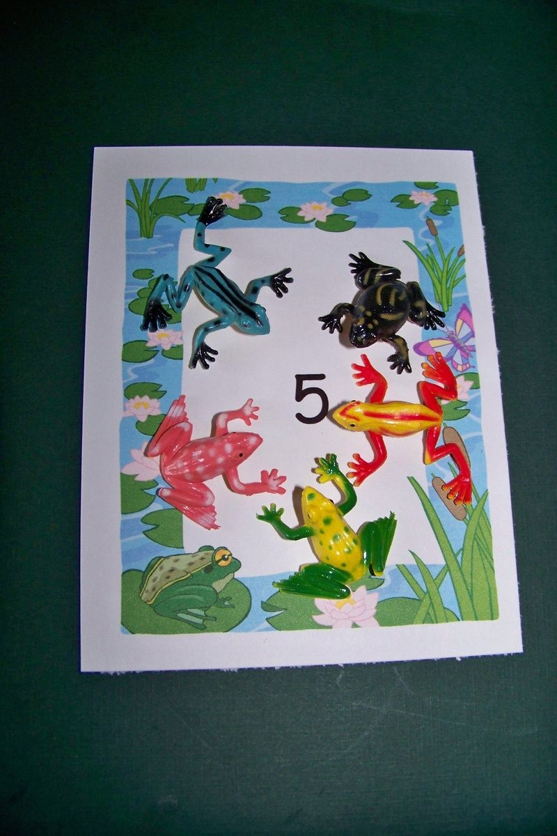 How Many Frogs Printable Sheets Tip For Younger Child