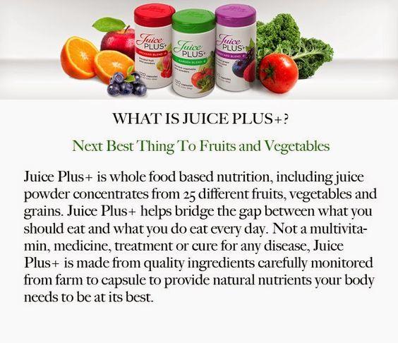 Juice Plus ★ Whole Food Nutrition