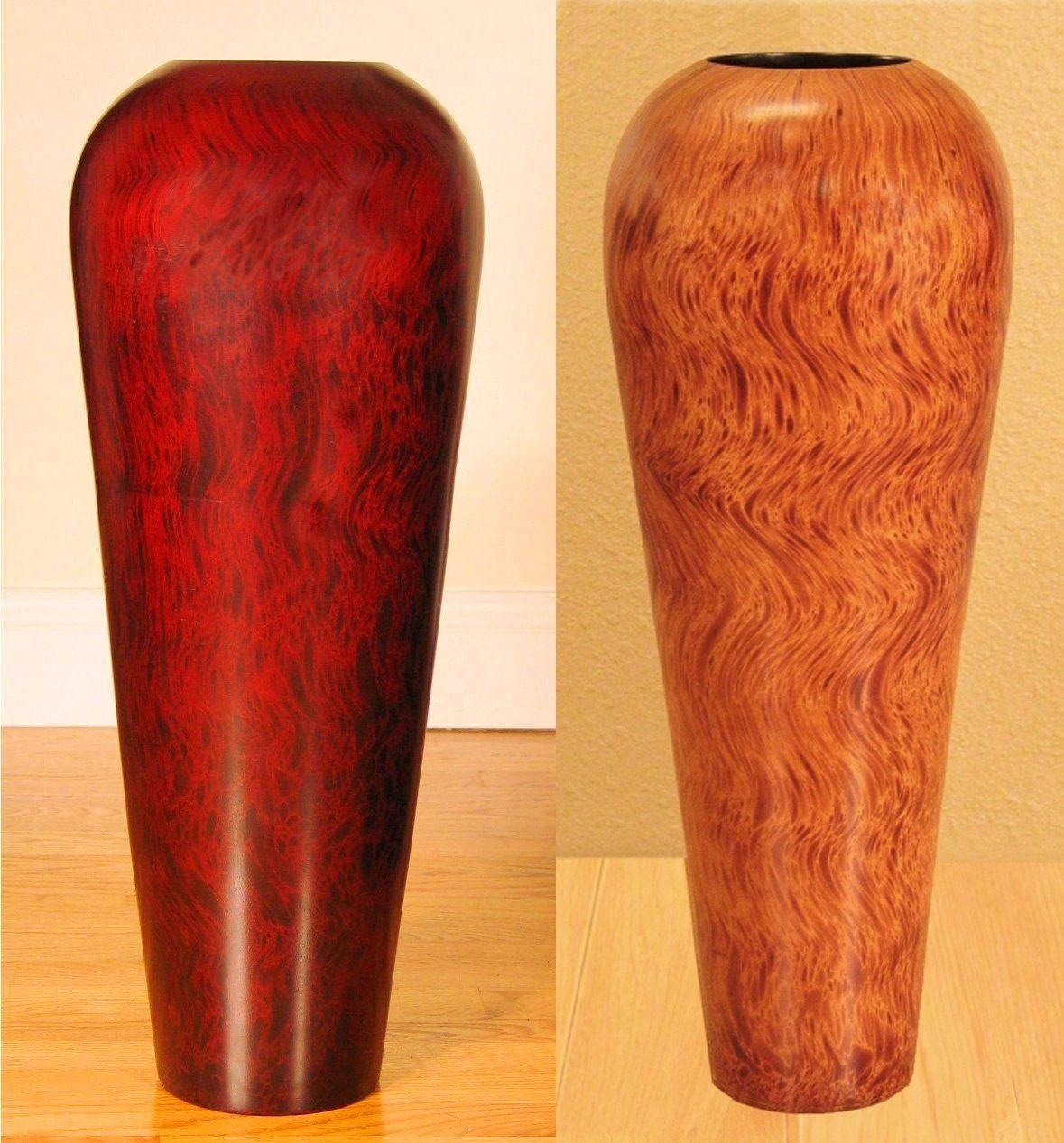 Fetching large vase design red brown colors vases mango wood tall fetching large vase design red brown colors vases reviewsmspy