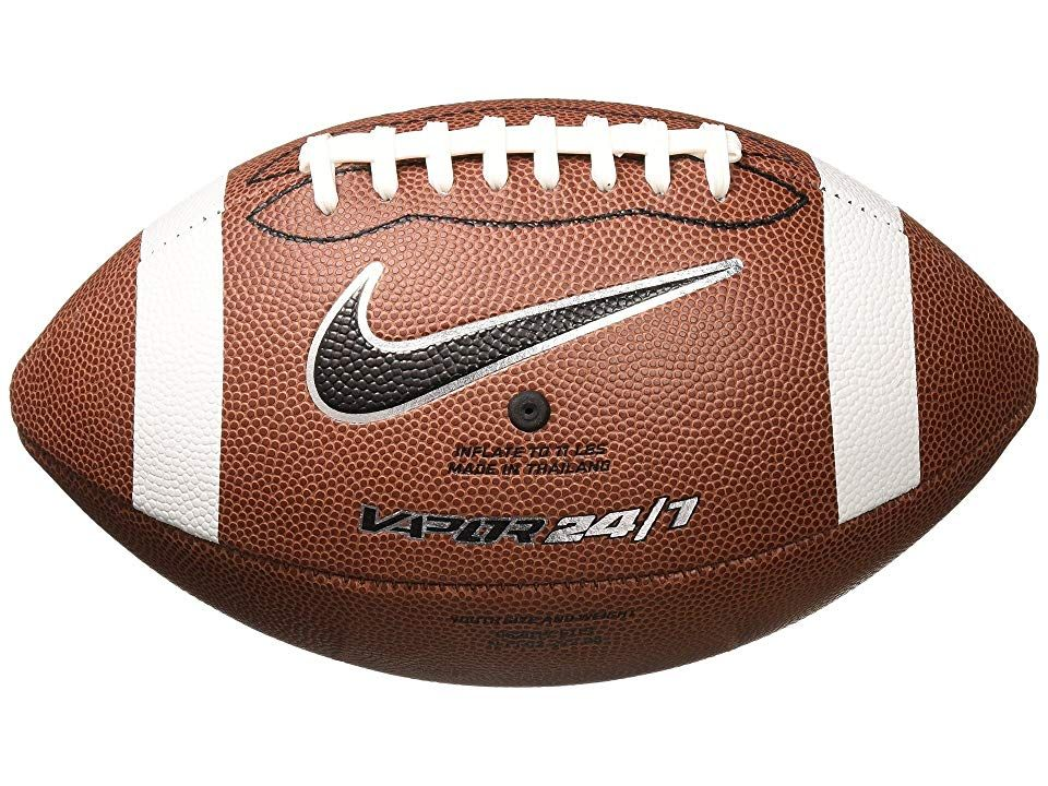 Nike Vapor 24/7 Football (Youth) (Brown/White/Metallic