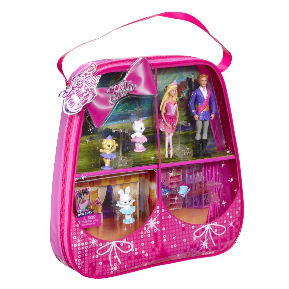 Barbie In The Pink Shoes As Kristyn Farraday Prince Siegfried W 3 Friends Dolls Bears Contemporary Fairytale
