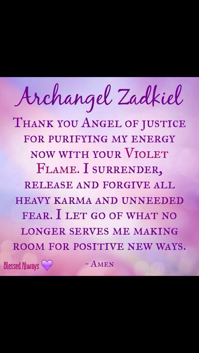 Archangel Zadkiel Urblessedalways Blessed Always Original