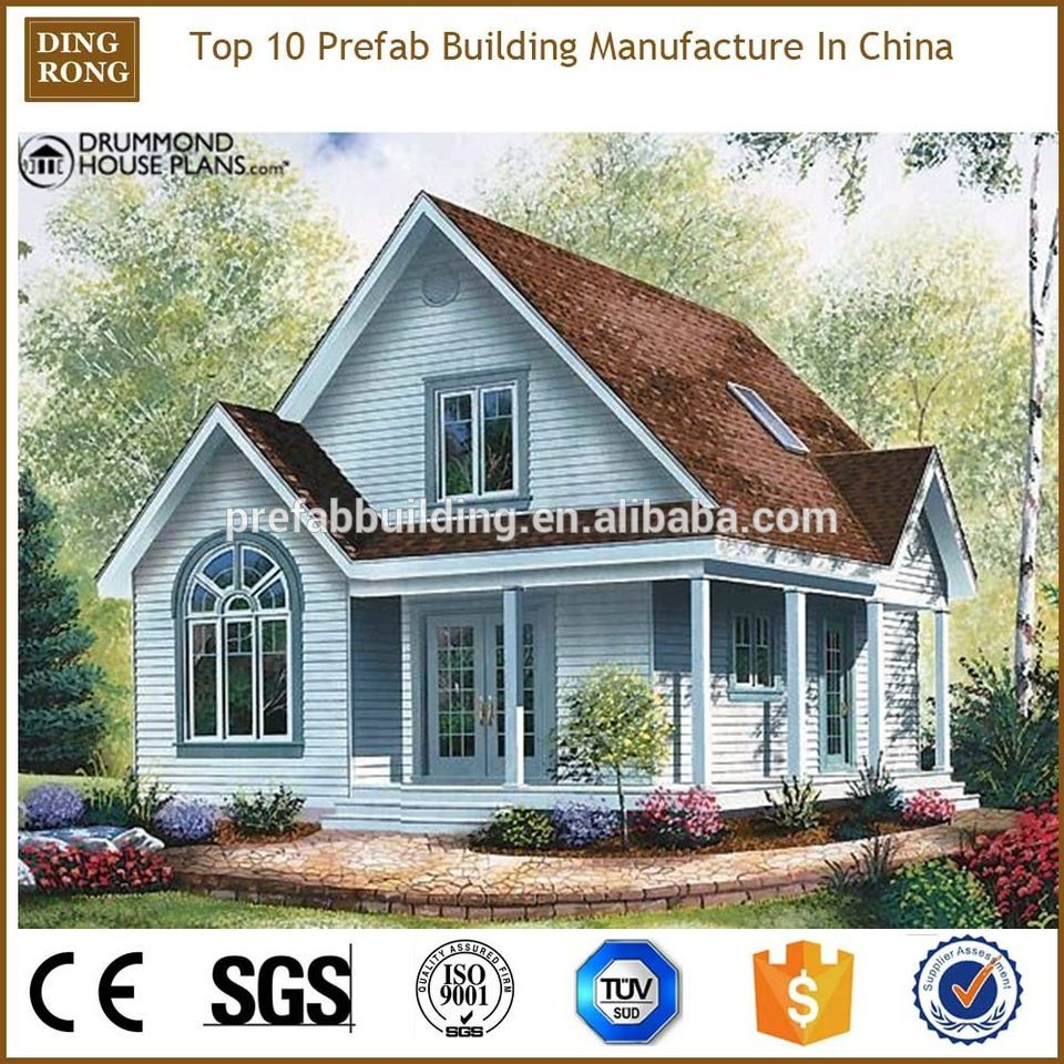Light Gauge Steel Hurricane Proof Small Prefab Houses Poland Country Style House Plans Narrow Lot House Plans Cottage Style House Plans