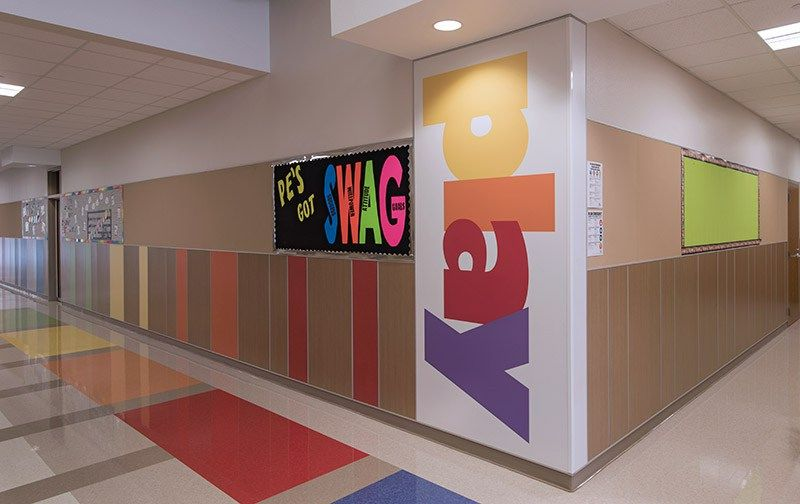 Carver Elementary School Wall Panel System Wall Paneling Wall Panel System Panel Systems