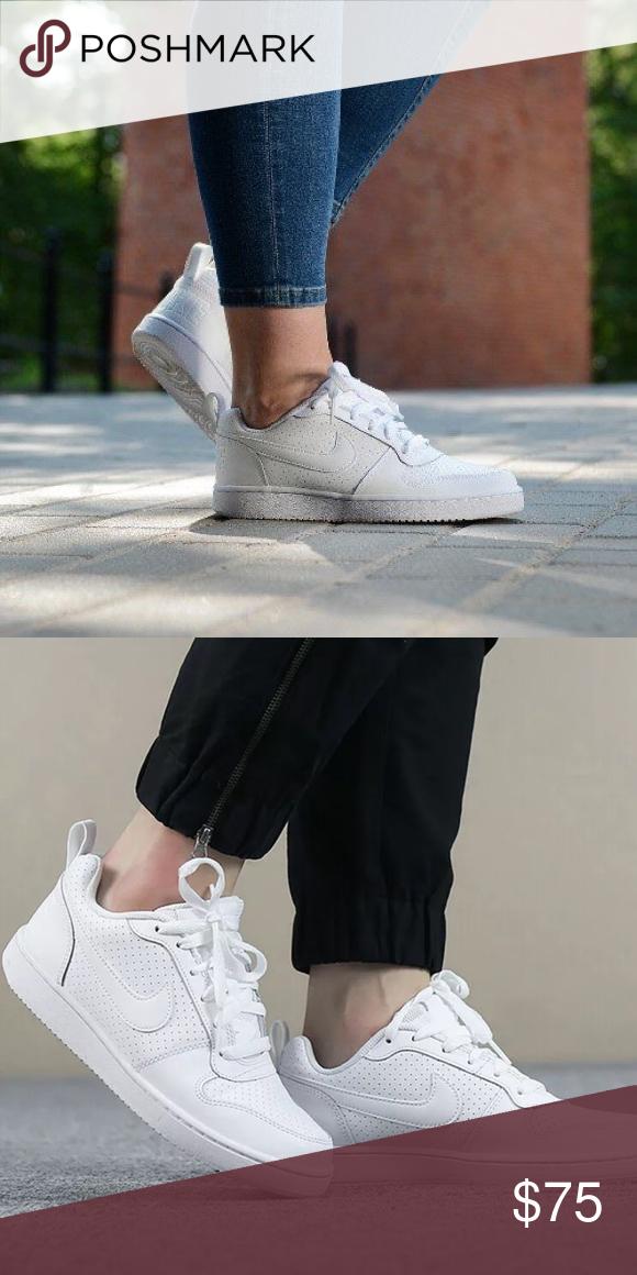 Nike Court Borough Low   White sneaker