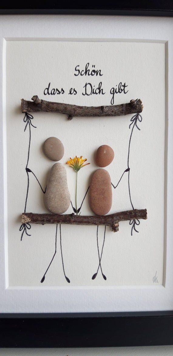 Stone Picture, Love, Friendship, Gift, Wedding