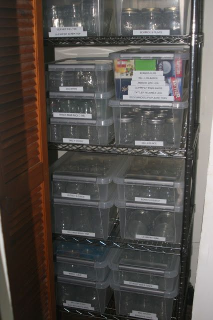 Canning Jar Storage Shelves Canning Jar Closet Canning