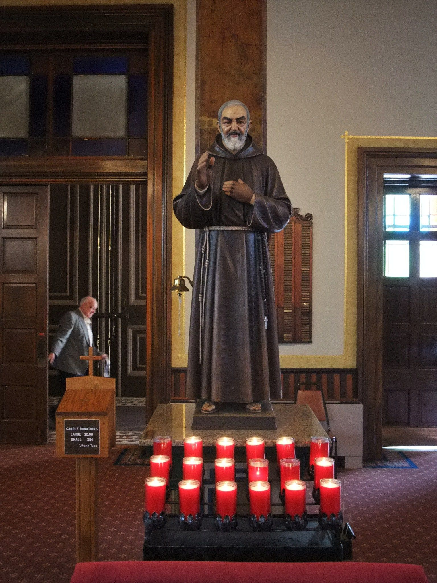 Shrine of St. Joseph, Site of St. Peter Claver Miracle, St