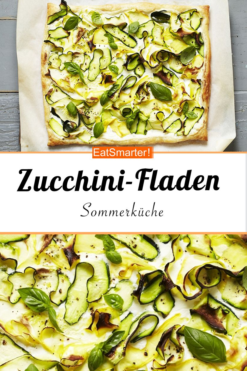 Photo of Zucchini-Fladen
