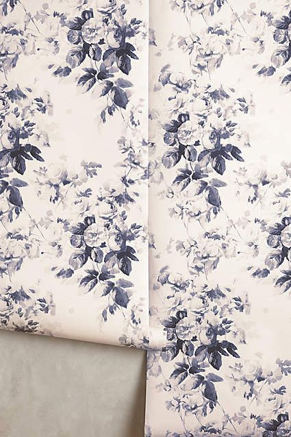 Smoky Rose Wallpaper | Renovation | Pinterest | Wallpaper ...