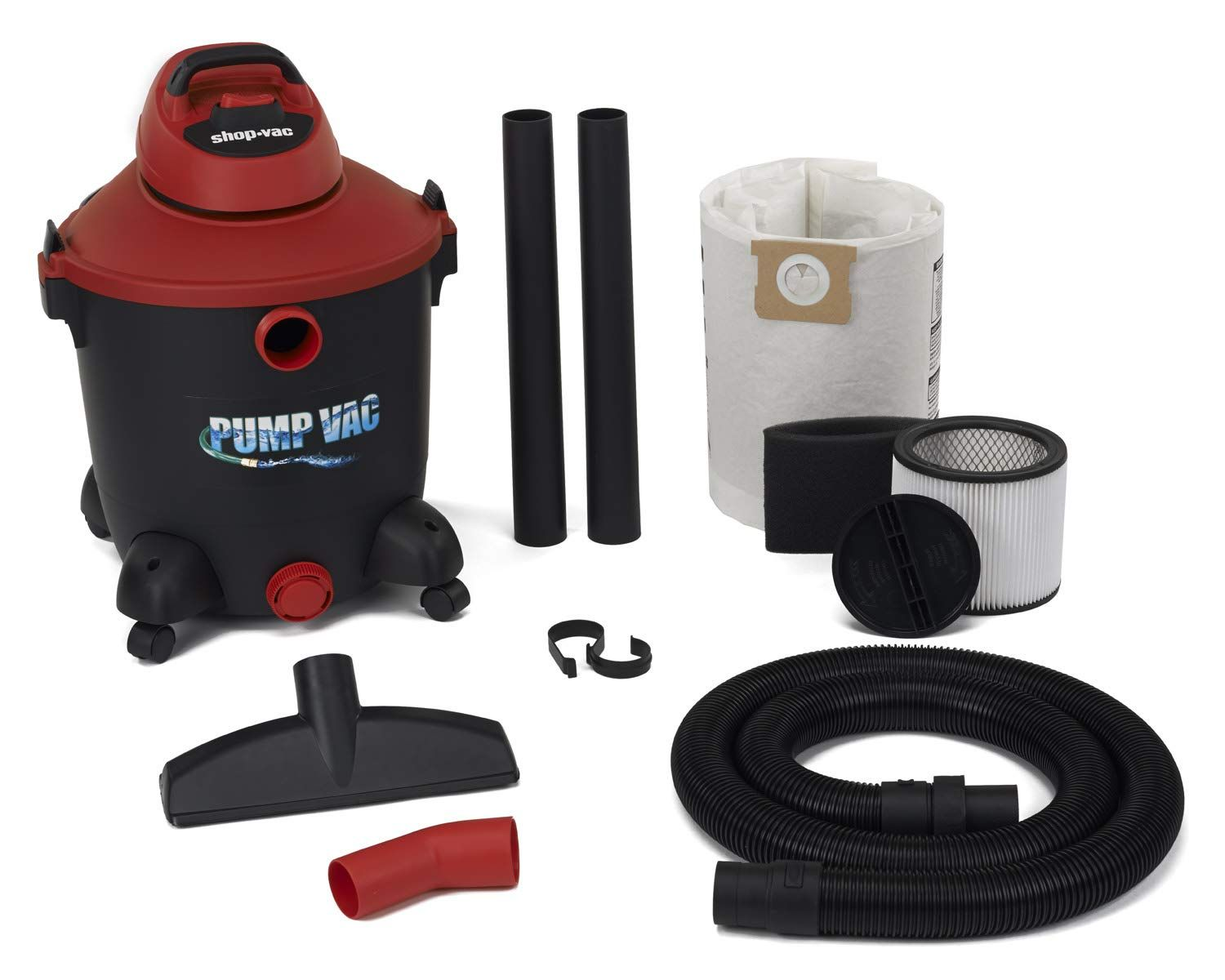 Shop Vac 5821200 12 Gal 5.0 PHP Wet Dry Vacuum with built