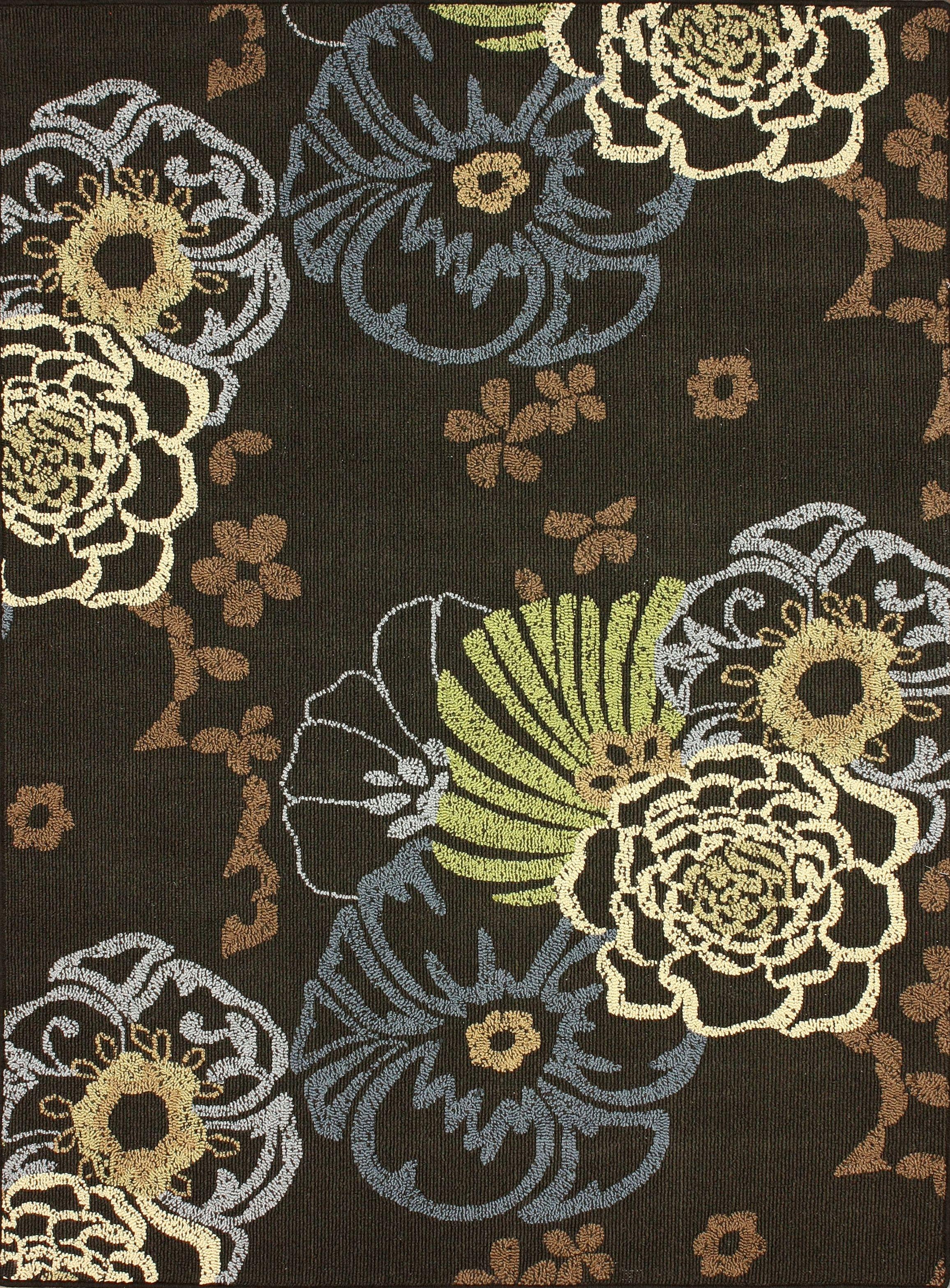 Trendz VO20 Dk Brown Rug Colori