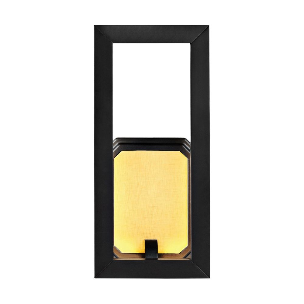 """Feiss Khloe 12"""" High Oil Rubbed Bronze LED Wall Sconce - Style # 8N548"""